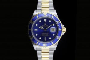 Rolex Submariner Stahl Gold (40mm) Ref.: 16613 mit Box & Papieren (LC100) aus 2004