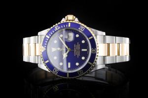 Rolex Submariner Stahl Gold (40mm) Ref.: 16613