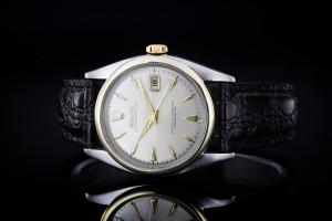 Rolex Datejust (36mm) Ref.: 6075 in Stahl-Gold, Plexiglas & Red Date aus 1961
